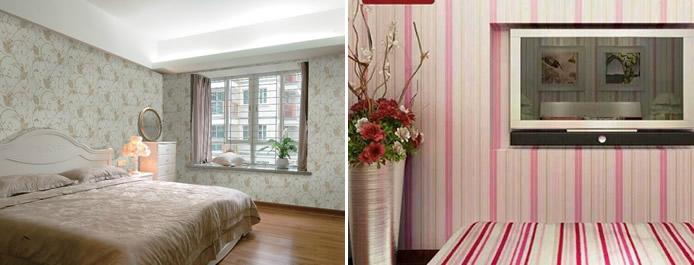 卧室墙纸搭配什么颜色好,室内装修设计师解析内幕!