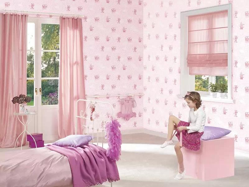 儿童房墙纸室内装修效果图独家设计