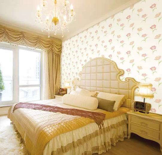卧室墙纸效果图